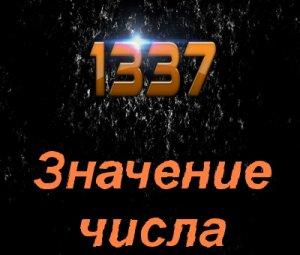 Что значит 1337?