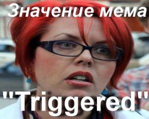 Triggered Чанти Бинкс мем
