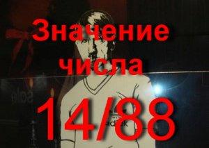 что значит число 1488?