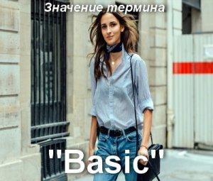 что значит Basic перевод?