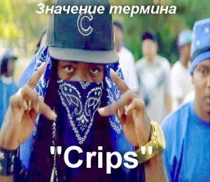 что значит Crips перевод?