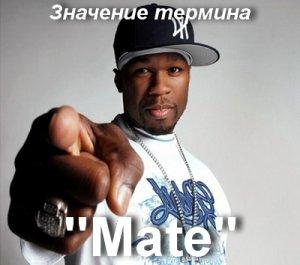 что значит Mate перевод?
