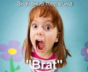что значит Brat перевод?