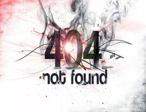 Not found - что значит?