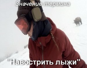 Навострить лыжи - что значит?