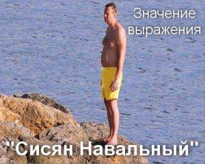 Сисян Навальный мем значение?