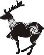 кельтский календарь олень.