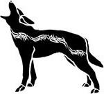 кельтский зодиак волк.