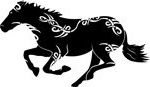 кельтский зодиак лошадь.