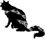 кельтский зодиак кот.