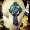 тату крест значение кельтский.