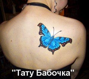 Тату Бабочка - значение