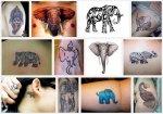 варианты Тату Слон значение.