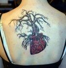 тату сердце и дерево значение.