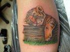 тату тигр малыш значение.