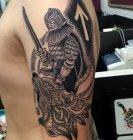 тату кельтский воин значение.