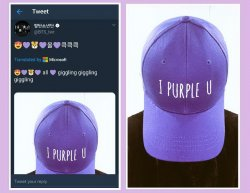 I Purple You кепка.