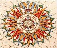 Роза ветров значение символа в оккультизме?