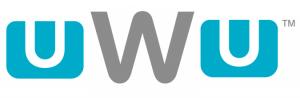 TM Wii U синий текст шрифт aqua product logo.