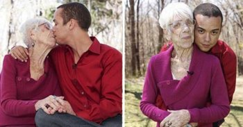 Женщина старше в браке.