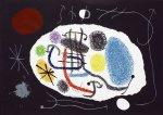 """""""Le Lezard aux Plumes d'Or II"""" (1971, M.800), Хуан Миро, Сюрреализм, Искусство сюрреализма."""
