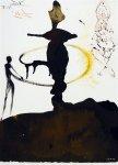 """Filiae Herodiadis Saltatio"" (Танец дочери Иродиады, 1964), Сальвадор Дали."