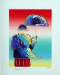 «Человек-зонтик» (2016), Питер Макс.