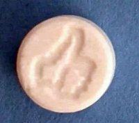 Фото экстази. Изображение экстази с большими пальцами логотип.