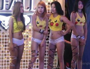 Пусси шоу в Таиланде.