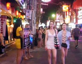 Walking Street Паттайя.