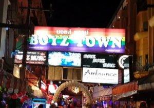Boyz Town - Паттайя для геев.