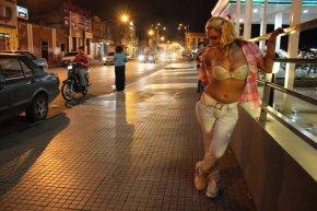 Трансвестит в Панаме.
