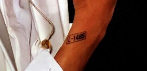 Татуировки Чанеля из EXO.
