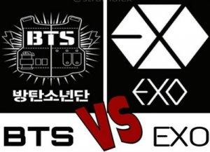 Кто лучше BTS или EXO?