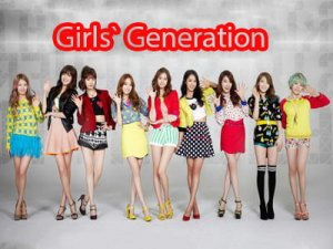 группа Girls' Generation.