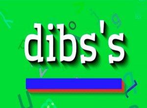 Dibs - перевод?