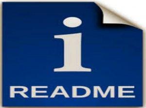 Ридми, Readme - перевод
