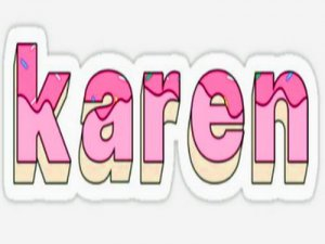 Karen - перевод?