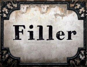Filler - перевод?