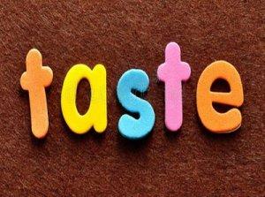 Taste - перевод?