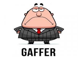 Gaffer - перевод?