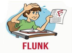 Flunk - перевод?