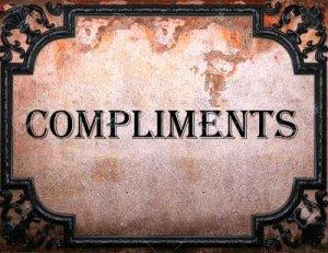 Compliments - перевод?