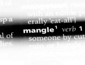 Mangle - перевод?