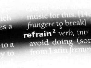 Refrain - перевод?