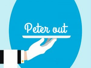 Peter out - перевод?