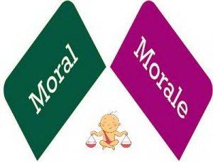 Moral, Morale - перевод?