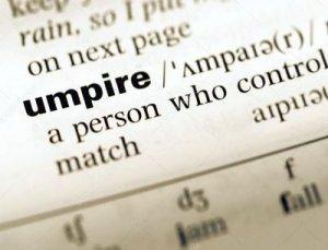 Umpire - перевод?