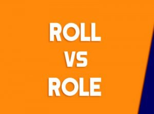 Role, Roll - перевод?