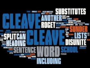 Cleave - перевод?